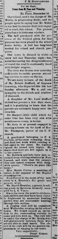 Wichita Eagle 1878-12-19 p2 (Items from El Paso and Vicinity).jpg