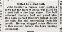 Derby Dispatch 1889-10-26 p1 (John Coulter killed).png