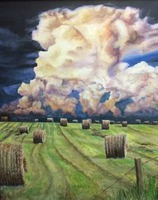 Kansas Clouds by Maria Ctibor (Adult Division - 1st Place)